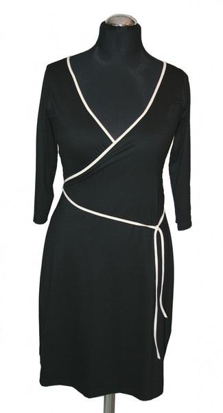 - Wickelstylekleid mit Dreiviertelarm von VARIO-SHIRTS - Wickelstylekleid mit Dreiviertelarm von VARIO-SHIRTS