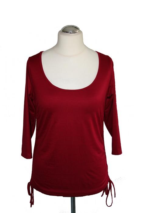 Kleinesbild - Sexy-C-Shirt No.2 raffbar mit 3/4 Arm aus Viskose