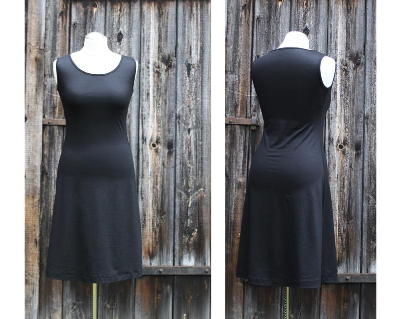 - Medi-C-Basic-Kleid gerade ärmellos LG95 aus Viskosejersey   Jerseykleid - Medi-C-Basic-Kleid gerade ärmellos LG95 aus Viskosejersey   Jerseykleid