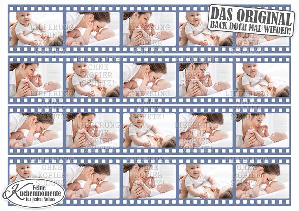 - ♥ Tortenaufleger Tortenband Tortenstreifen Filmstreifen mit Fotos (Dekorpapier PLUS) - ♥ Tortenaufleger Tortenband Tortenstreifen Filmstreifen mit Fotos (Dekorpapier PLUS)