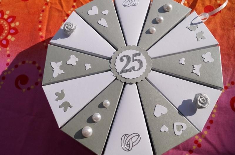 Geldgeschenk Silberhochzeit Hochzeit Geldgeschenkverpackung Zur Hochzeit 300g Tonpapier Hochzeitsgeschenk