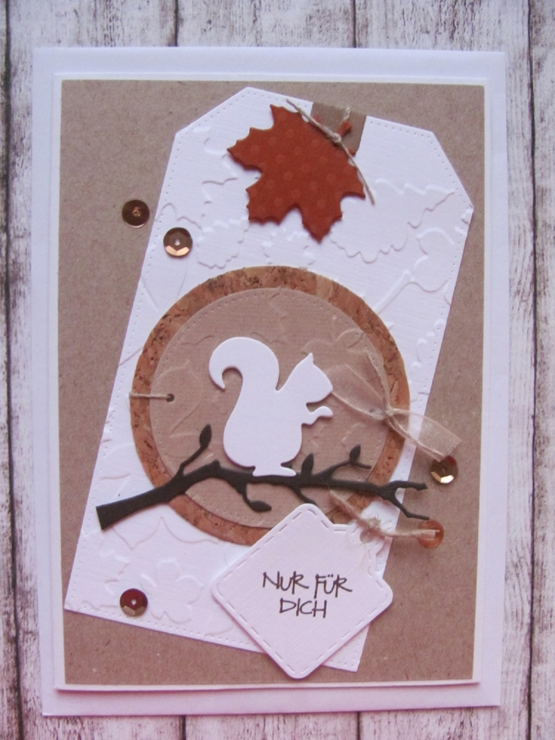 - Glückwunschkarte Herbst - Glückwunschkarte Herbst