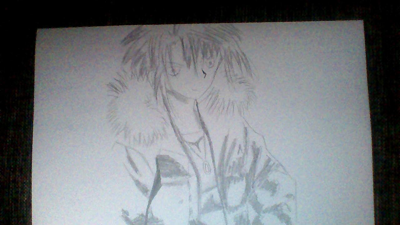 Kunst Anime Boy Gezeichnet