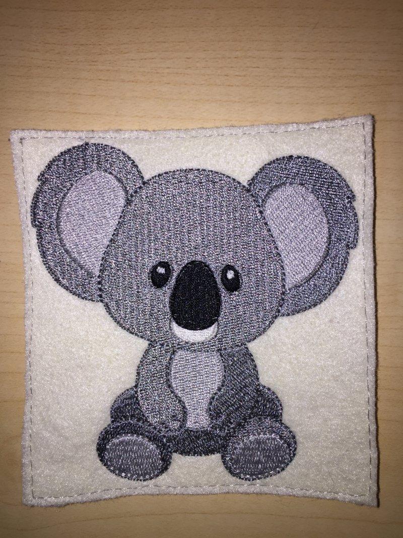 Kleinesbild - Stickdatei, Koalabaer,Koalabär zum besticken von Handtüchern, TShirts