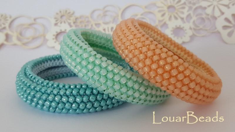 Schmuck Häkeln Perlen Armband Handgemachte 3 Farben Verfügbar