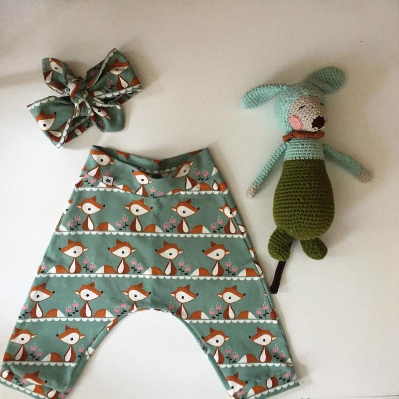 Kleinesbild - Pumphöschen  Babyhose  **FOXI**  3 Farben möglich Größe 50  bis 80 Baby / Kind
