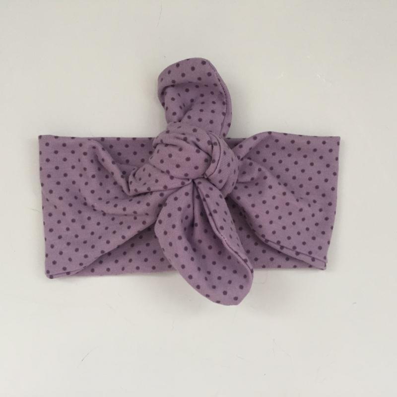 Kleinesbild - Baby Haarband / Stirnband * VIOLETTA * 3 Muster zur Auswahl
