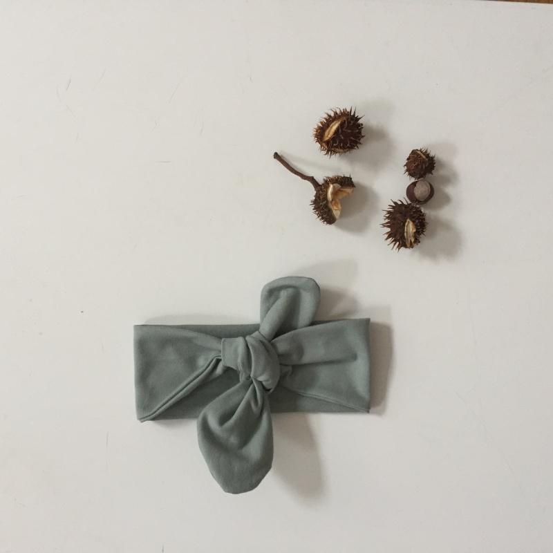 Kleinesbild - Baby Kinder Haarband Stirnband *MINT* 3 Größen