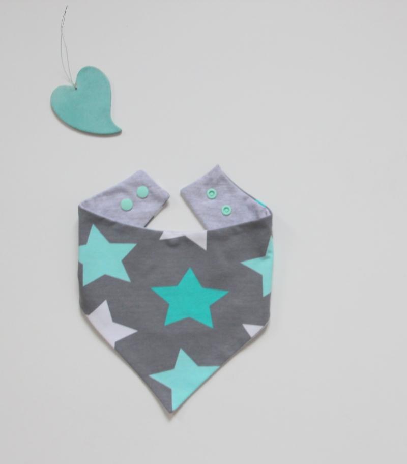 Kleinesbild - Neugeborenen Set * STERN  * mit Halstuch  Mützchen für Mädchen und Jungen