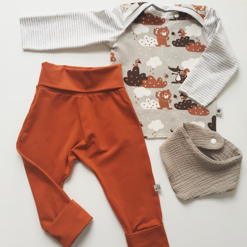 Kleinesbild - Mitwachshöschen JoJo von zimtbienchen Gr.50-80 Baby / Kind