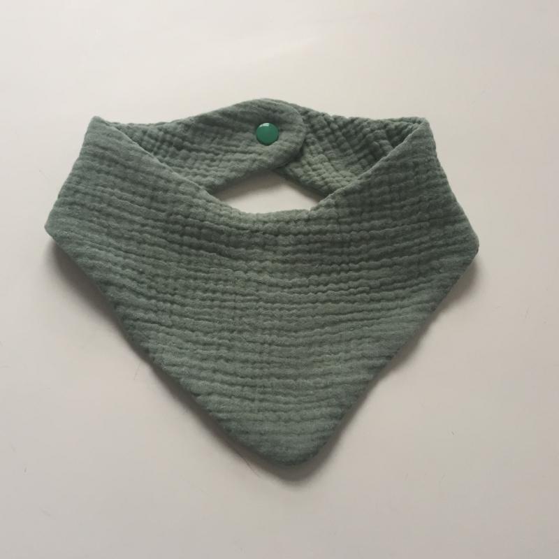 Kleinesbild - Halstuch aus Musselin BASIC individuelle Farbwahl vom zimtbienchen  Handarbeit