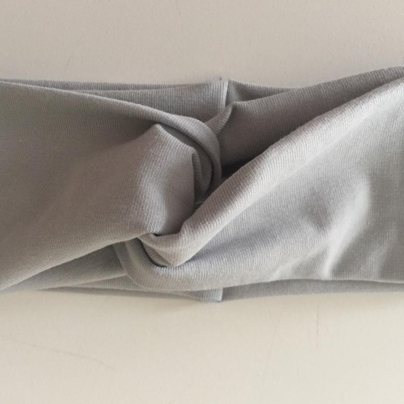 Kleinesbild - Kinder Turbanstirnband * UNI * Haarband vom zimtbienchen  KU 42 - 54cm