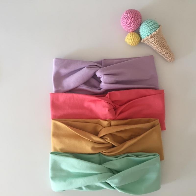 Kleinesbild - Kinder Turbanstirnband * EISEISBABY * Haarband vom zimtbienchen  KU 40 - 54cm