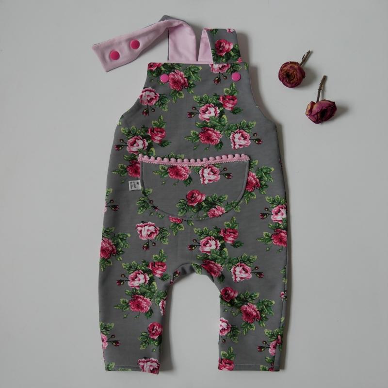 -  Latzhose Modell ROSE Jumper Spieler Romper für Baby und Kind vom zimtbienchen 44/98    -  Latzhose Modell ROSE Jumper Spieler Romper für Baby und Kind vom zimtbienchen 44/98