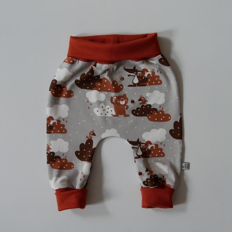 - Mitwachshöschen JOJO mit Fuchs und Bär von zimtbienchen Gr. 44 - 98  Baby / Kind      - Mitwachshöschen JOJO mit Fuchs und Bär von zimtbienchen Gr. 44 - 98  Baby / Kind