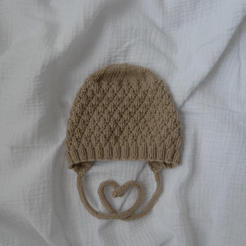 Kleinesbild - Babymütze Modell HYGGELIG Kindermütze  handgestrickt von zimtbienchen ab 0 - 12 Monate
