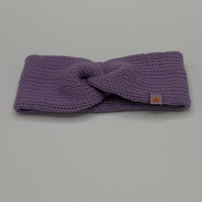 - zimtbienchen Stirnband mit Twist handgestrickt  CAROLIN  double Stirnband für Mädchen - zimtbienchen Stirnband mit Twist handgestrickt  CAROLIN  double Stirnband für Mädchen