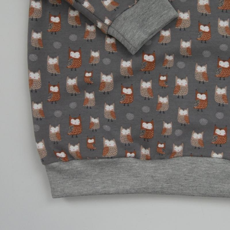 Kleinesbild - EULCHEN Oversize Shirt mit Langarm  Kind Handarbeit von zimtbienchen