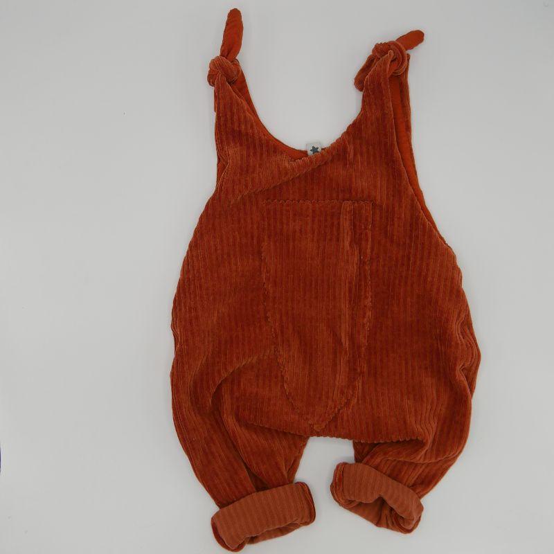 -  Latzhose Modell MATS rostrot Jumper Romper aus Jersey Cord für Baby und Kind vom zimtbienchen 50/104 -  Latzhose Modell MATS rostrot Jumper Romper aus Jersey Cord für Baby und Kind vom zimtbienchen 50/104