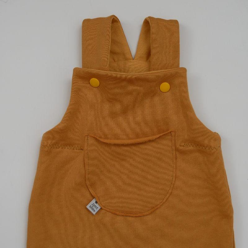 Kleinesbild -  Latzhose Modell  SWEAT Jumper Romper für Baby und Kind vom zimtbienchen 44 - 98