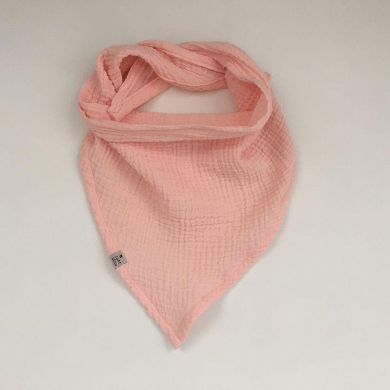 - Dreieckstuch aus Musselin zartes ROSA Halstuch für Baby und Kind zimtbienchen   - Dreieckstuch aus Musselin zartes ROSA Halstuch für Baby und Kind zimtbienchen