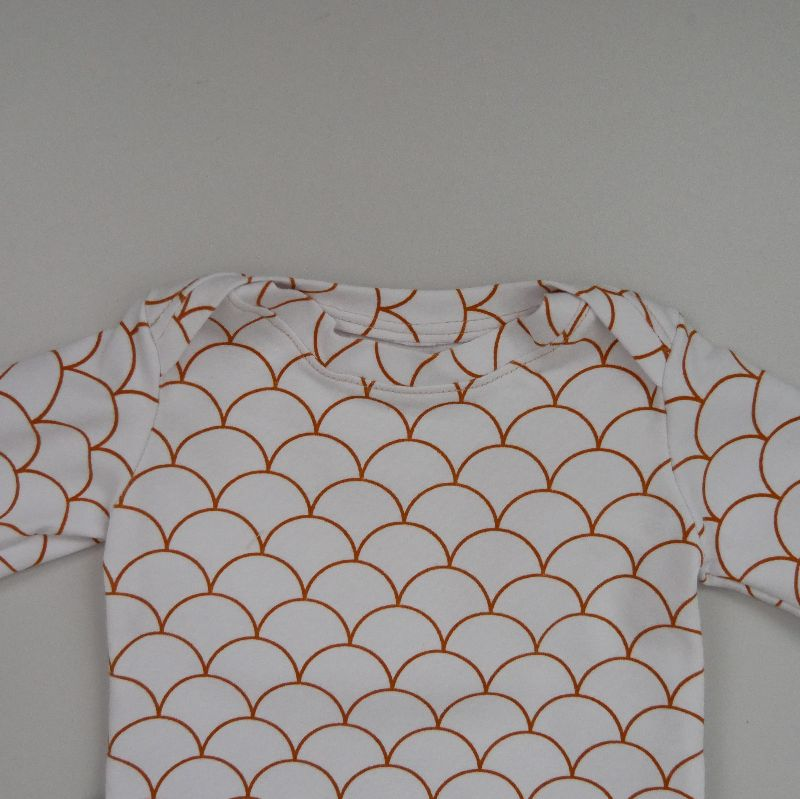 Kleinesbild - Langarm Shirt WELLEN Handarbeit  zimtbienchen