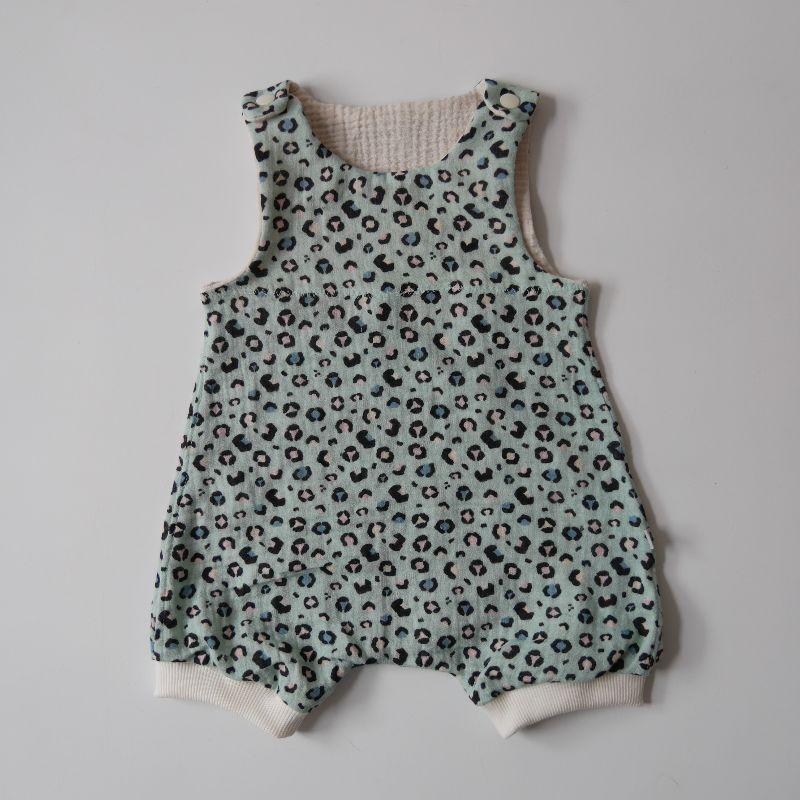 - Sommerspieler LEO Musselin Romper für Baby und Kind vom zimtbienchen 44 - 98     - Sommerspieler LEO Musselin Romper für Baby und Kind vom zimtbienchen 44 - 98
