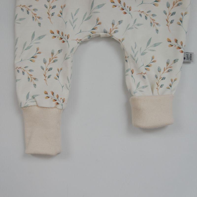 Kleinesbild - Babyhose WEIDENKÄTZCHEN offwhite Mitwachshöschen kaufen Baby Kind zimtbienchen