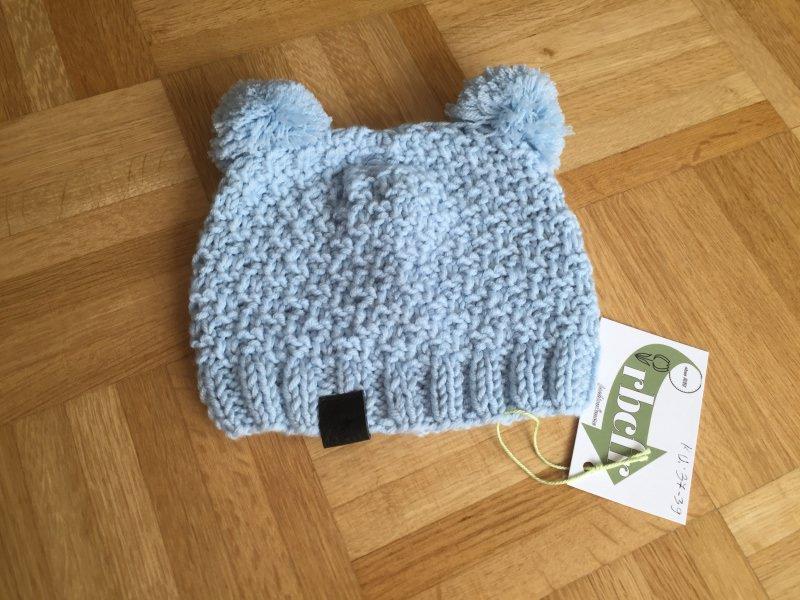 Kleinesbild - Handgestrickte Mütze  Rebecca für kalte Tagen