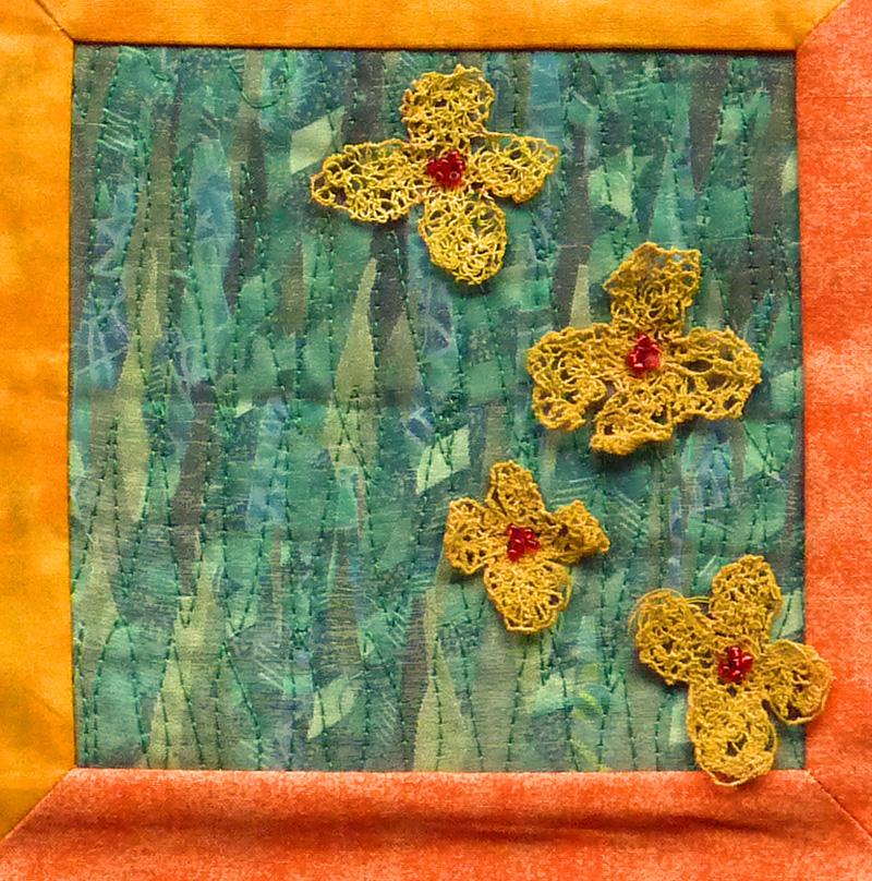 Kleinesbild - ♡ genähte Kissenhüllen mit Blüten