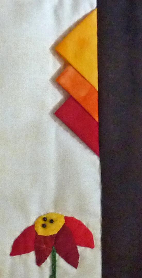 Kleinesbild - ♡ kleiner Wandbehang  Vogelhäuschen