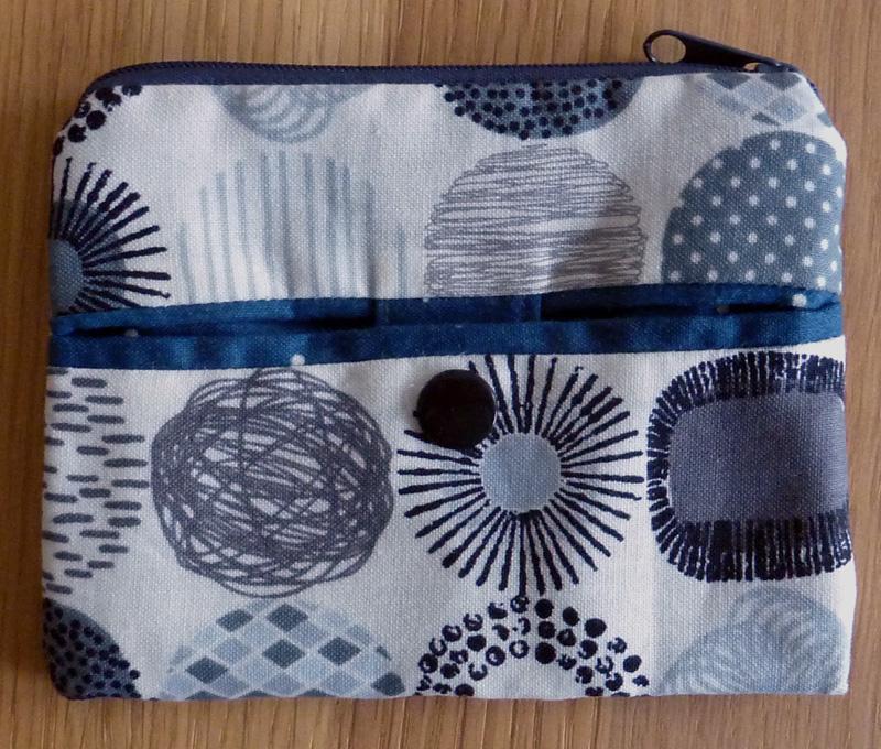 Kleinesbild - ♡ praktischer Schlüsselanhänger mit kleiner Reißverschlusstasche