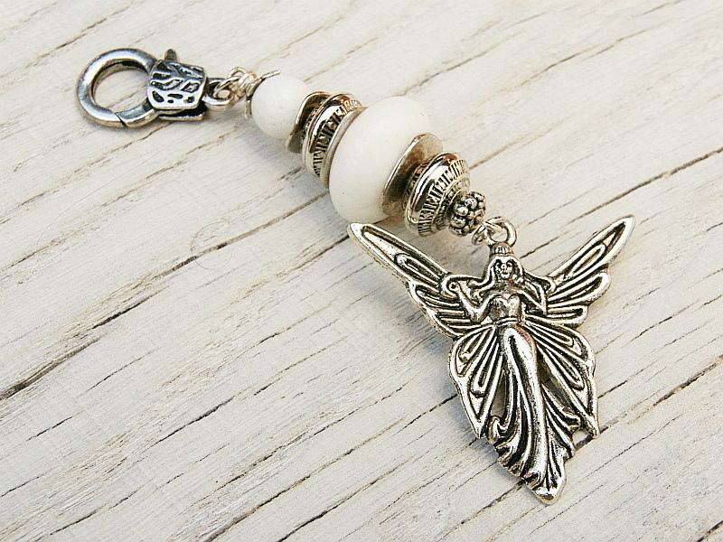 - Schlüsselanhänger Taschenanhänger Kettenanhänger Engel Glücksbringer Schaumkoralle weiß - Schlüsselanhänger Taschenanhänger Kettenanhänger Engel Glücksbringer Schaumkoralle weiß