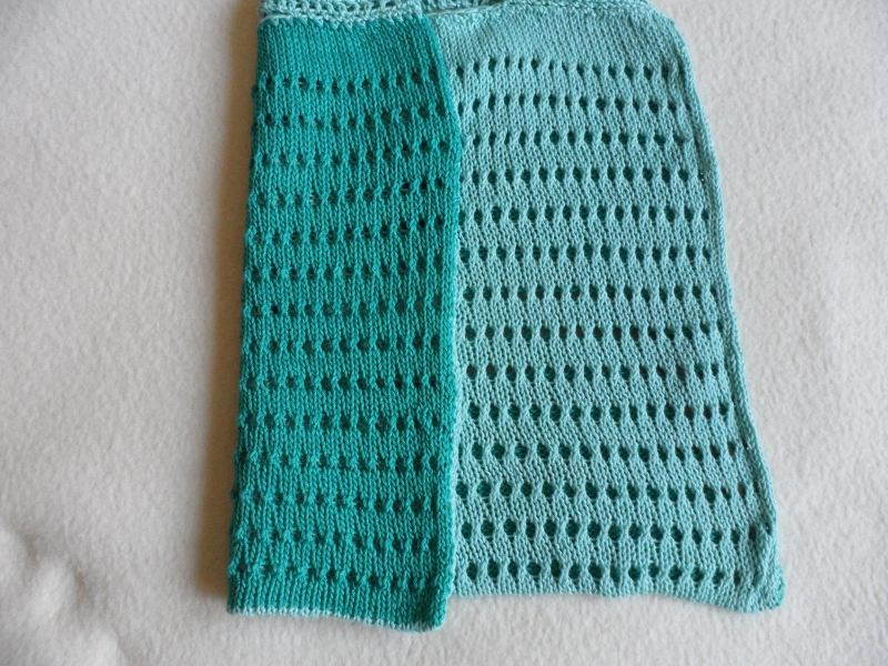 Kleinesbild - Einkaufsnetz, Einkaufstasche, gestrickt, Handmade