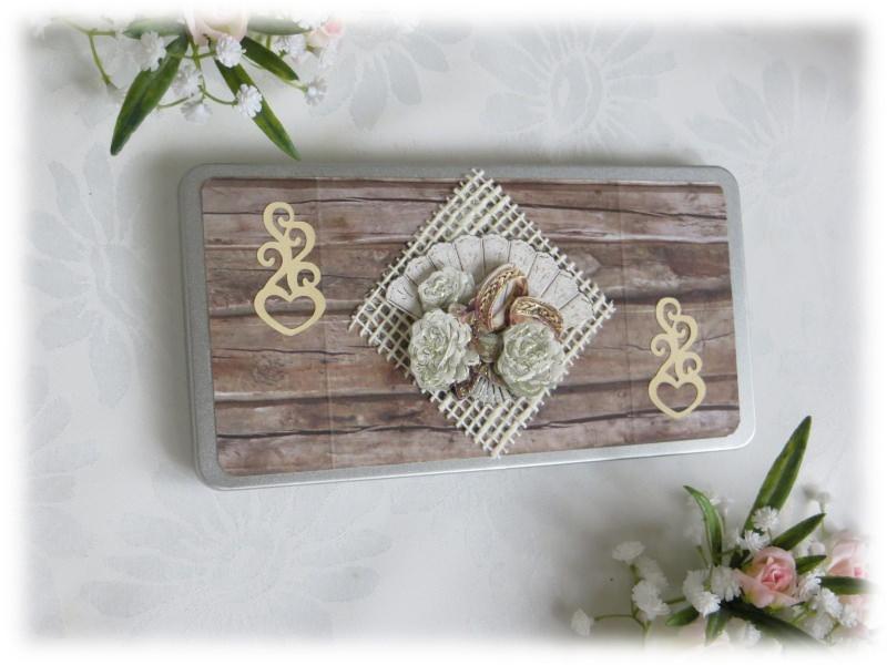 Kleinesbild - Geldgeschenkidee zur Hochzeit mit Rosen