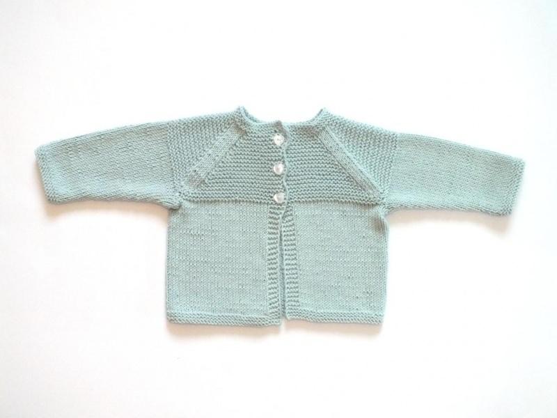 - Gestrickte Babyjacke aus weichem Baumwollgarn für Neugeborene  in minigrün - ein tolles Geschenk zu Weihnachten - Gestrickte Babyjacke aus weichem Baumwollgarn für Neugeborene  in minigrün - ein tolles Geschenk zu Weihnachten