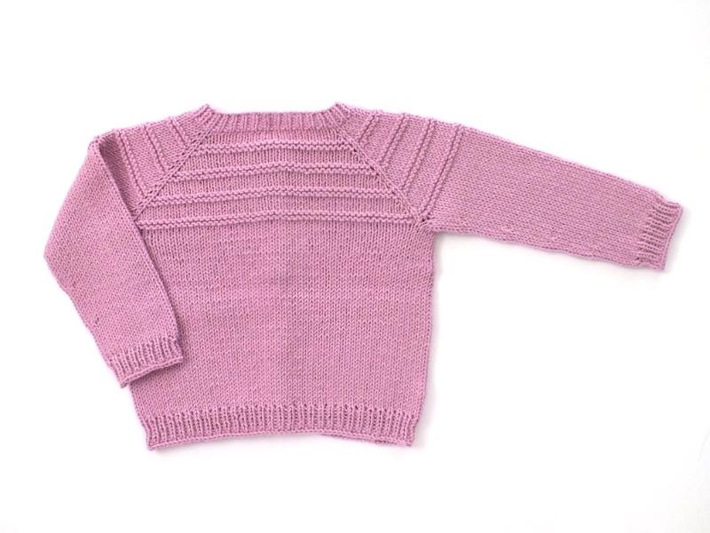 Kleinesbild - Handgestrickte Babyjacke in pink  - ein tolles Geschenk für kleine Mädchen - Größe 68 - 74  (6 - 9 Monate)