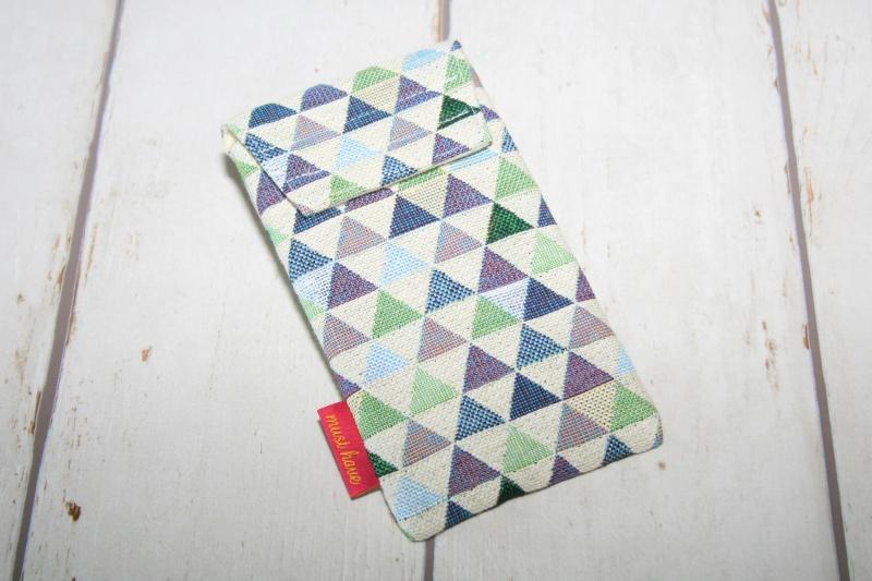 - Handytasche Dreieck mit Klettverschluss Gr.M - Handytasche Dreieck mit Klettverschluss Gr.M