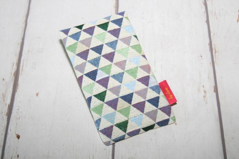 Kleinesbild - Handytasche Dreieck mit Klettverschluss Gr.M