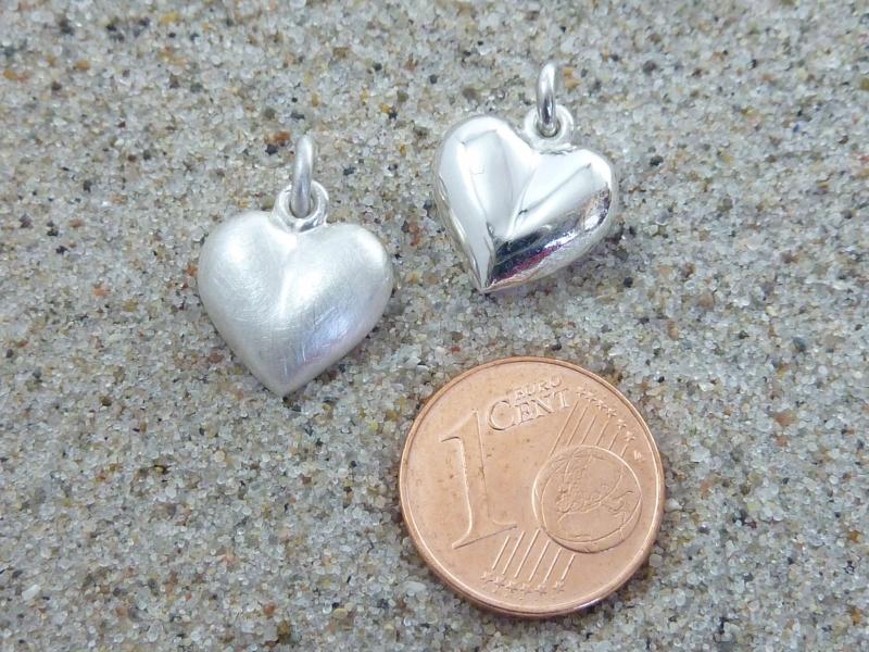 Kleinesbild - Herz-Anhänger, Silber 925, massiv, ohne Kette