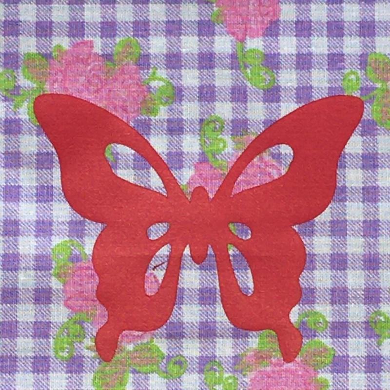 Kleinesbild - Genähter Bezug incl. Kalt/Warm Kompresse, aus Baumwolle, Hülle, Wärmekissen, Kältekissen, Coolpad, aus Baumwolle Schmetterling, flieder/rosa/pink