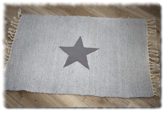 Wohnen Flickenteppich Laufer Einzelstuck T 271 Stern Teppich