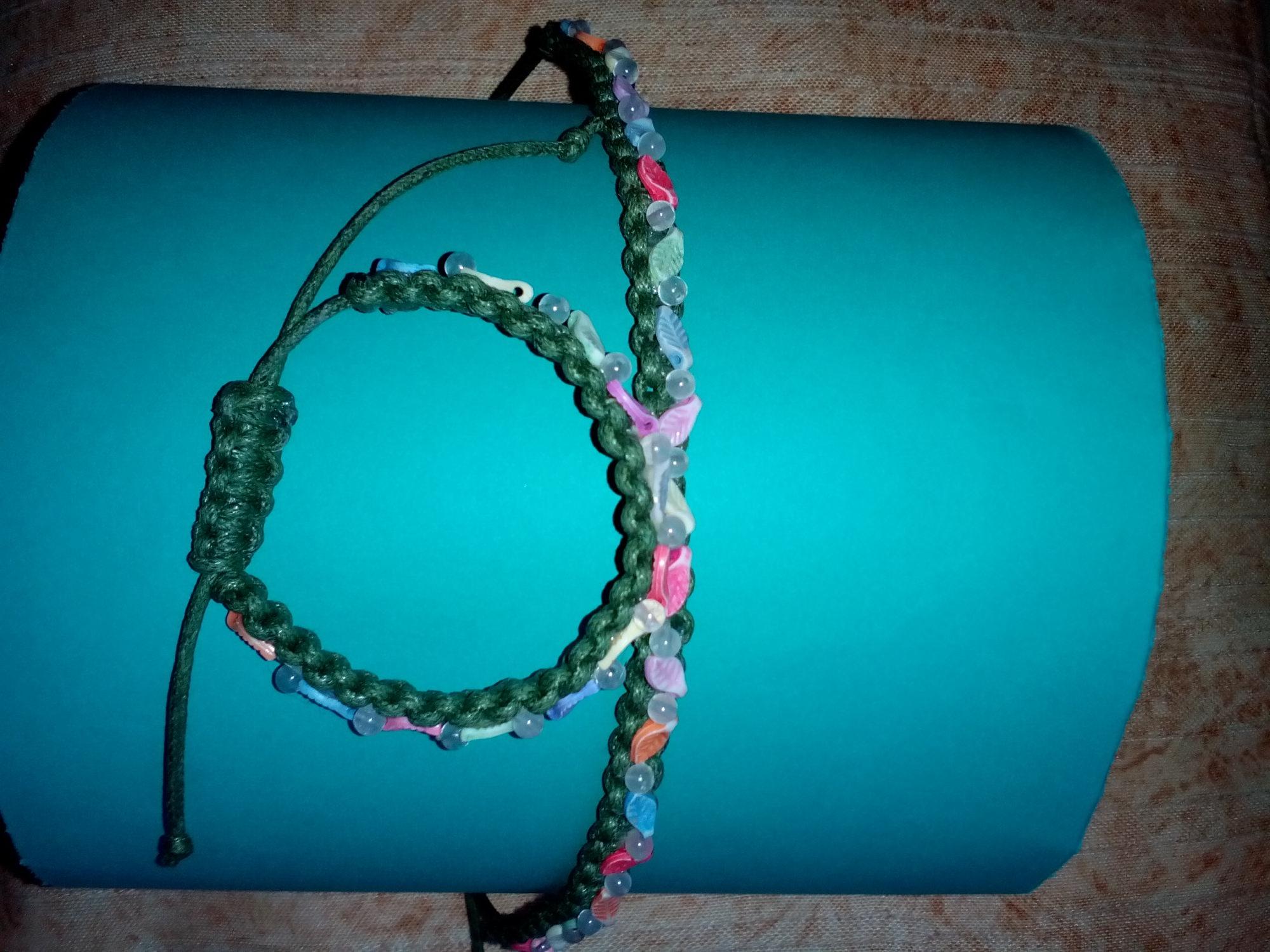 - Handgemacht, Diadem und Armband - Handgemacht, Diadem und Armband