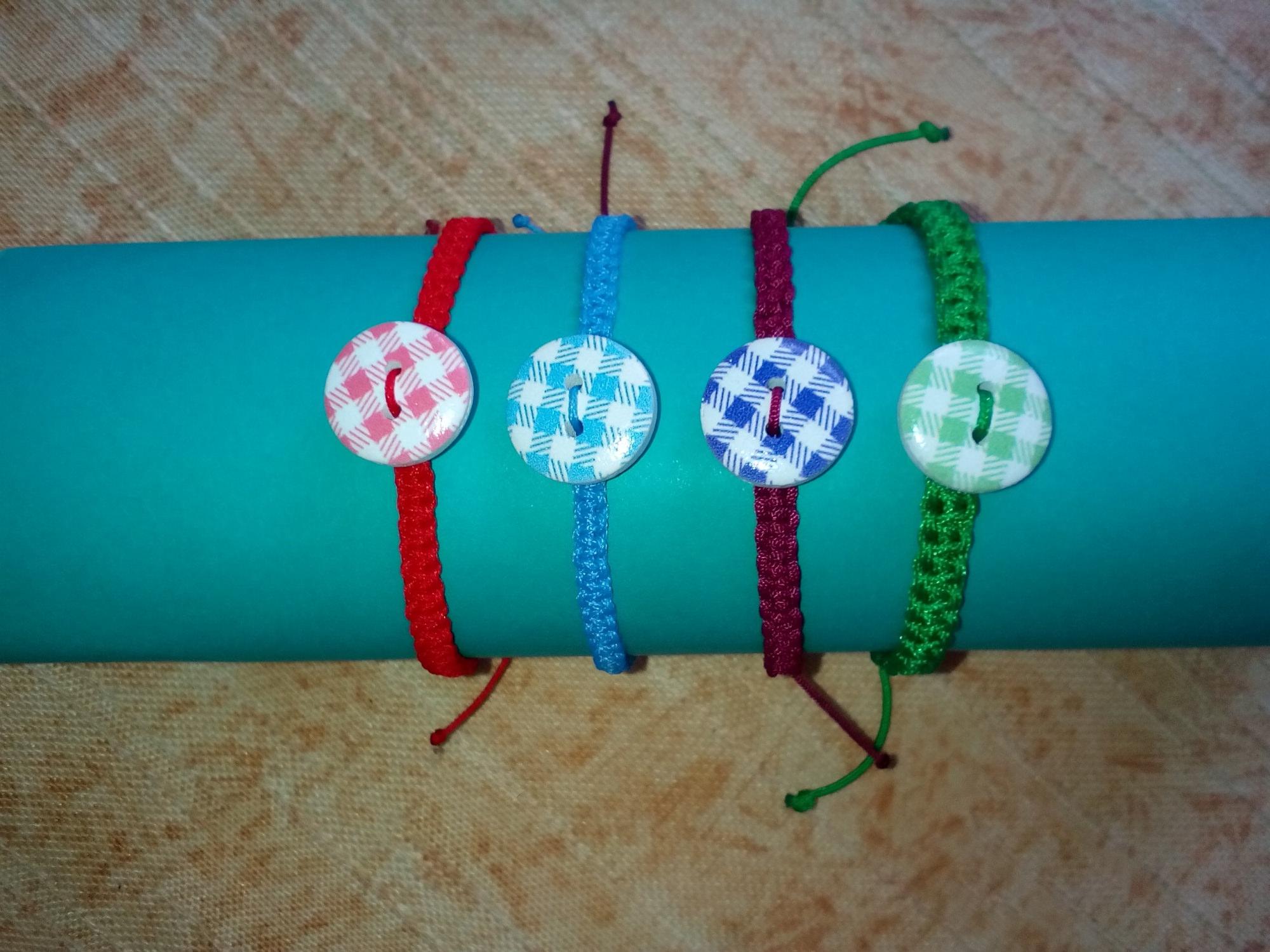 Kleinesbild - Armbänder - Satz, handgemacht