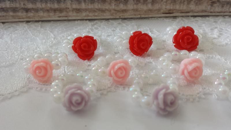 Kleinesbild - Allerliebstes Blumenmädchen Kinderarmband zur Hochzeit handgefertigt  mit Schmetterlingsgperlen als Geschenk für Ihr Blumenkind zur Hochzeit Gastgeschenke Mädchen