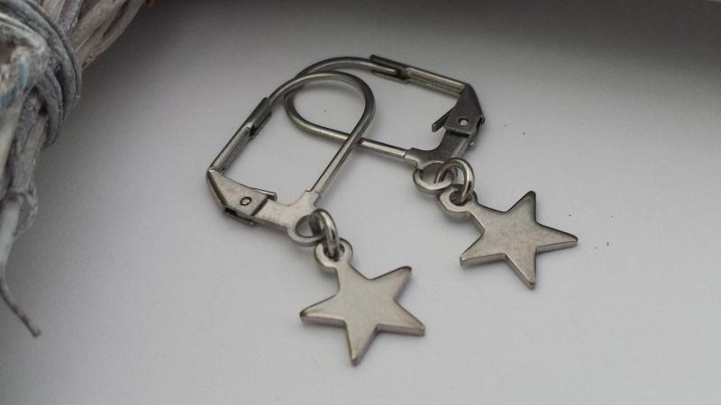 - Schöne Sterne Ohrringe aus Edelstahl Geschenk Frauen Freundin Mama Trostspender Erinnerung - Schöne Sterne Ohrringe aus Edelstahl Geschenk Frauen Freundin Mama Trostspender Erinnerung