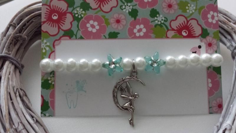 - Zahnfee Kinderarmband handgefertigt mit Feen Anhänger Geschenk von der Zahnfee für Mädchen Geschenkset - Zahnfee Kinderarmband handgefertigt mit Feen Anhänger Geschenk von der Zahnfee für Mädchen Geschenkset
