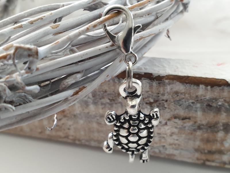 Kleinesbild - Schildkröte Turtle Charms Anhänger Geschenk Mädchen Frauen Freundin