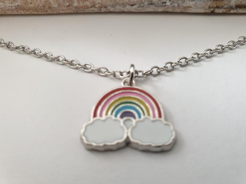 Beste Freunde Geschenk Freundschaft Zwei Ketten Mädchen Damen Schwäne Regenbogen