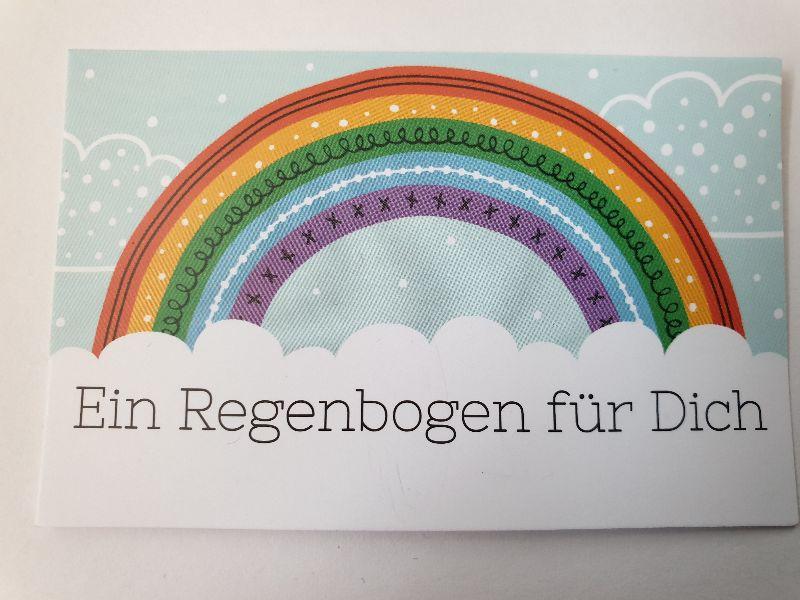 Kleinesbild - Regenbogen Ohrhänger Rainbow Ohrschmuck Glücksbringer Geschenk Freundschaft Frauen Freundin Mädchen